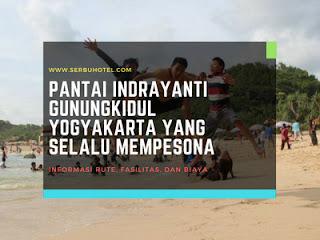 Pantai Indrayanti Gunungkidul Yogyakarta Yang Selalu Mempesona