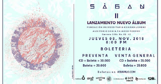 Concierto de Lanzamiento SÁGAN | Auditorio Sonia Fajardo