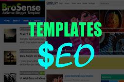 2 Free Blogger Templates SEO Optimized