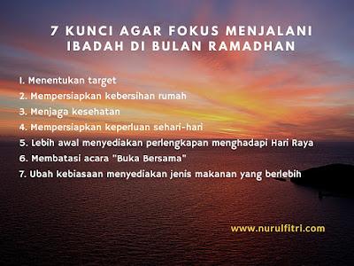 Cara belanja dengan cedas dan cermat di Bulan Ramadhan
