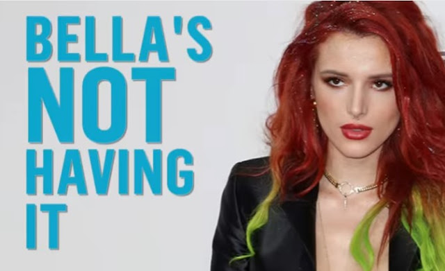 Bella Thorne Claps Back at Hairy Legs Comment
