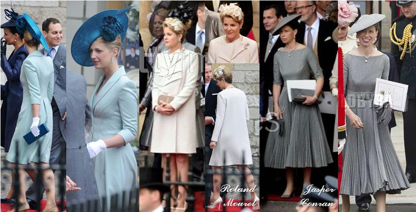 The Royal Order Of Sartorial Splendor Fashion Awards Windsors At Duke Ss Cambridge S Wedding