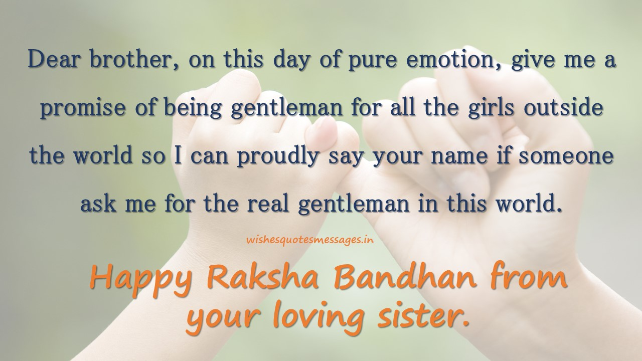Happy Raksha Bandhan Messages Brother With Status Sms For Whatsapp