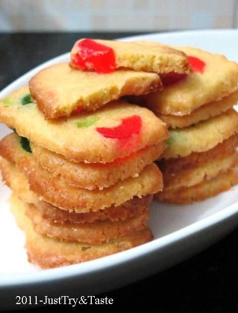 Resep Cherry Icebox Cookies   Just Try & Taste