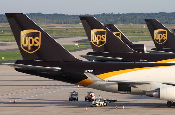 UPS disse que suspenderá o trânsito de mercadorias para o Catar, Arábia Saudita, Egito, Emirados Árabes Unidos e Bahrein