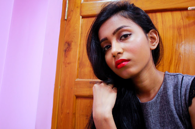 MAC Lipsticks For Indian Skin Relentlessly red