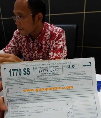 Pembayaran SPT Tahunan PPh E-Filling-Guru Pantura