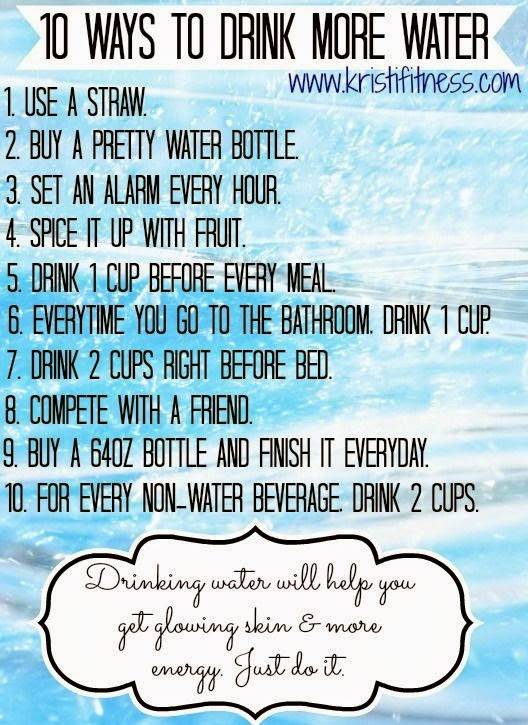 hover_share weight loss - 10 ways to drink more water