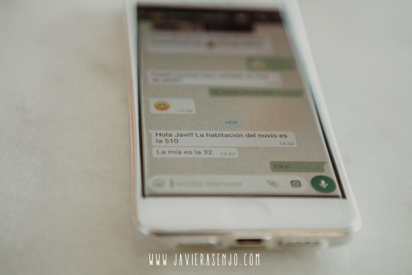 whatsapp indicaciones de habitación