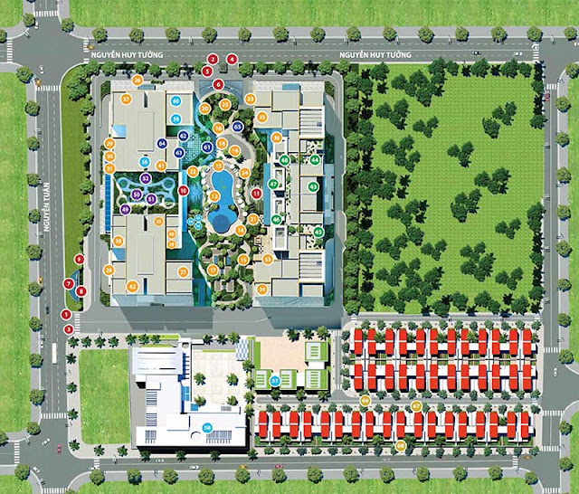 Tiện ích chung cư Imperia Garden 203 Nguyễn Huy Tưởng