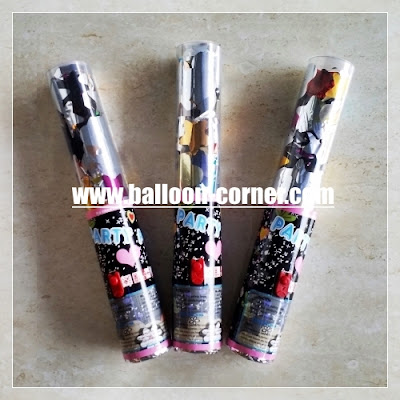 Party Popper / Confetti Mix (Bintang & Hati)