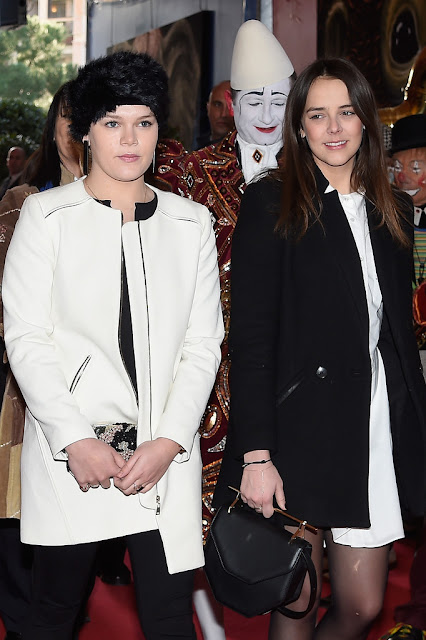 Princess Stephanie of Monaco and her daughters Camille Gotlieb and Pauline Ducruet attend the 39th International Monte-Carlo Circus Festival