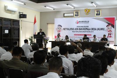 Ingat...!! Kuwu Dan ASN Diminta Netral Dalam Pemilu 2019
