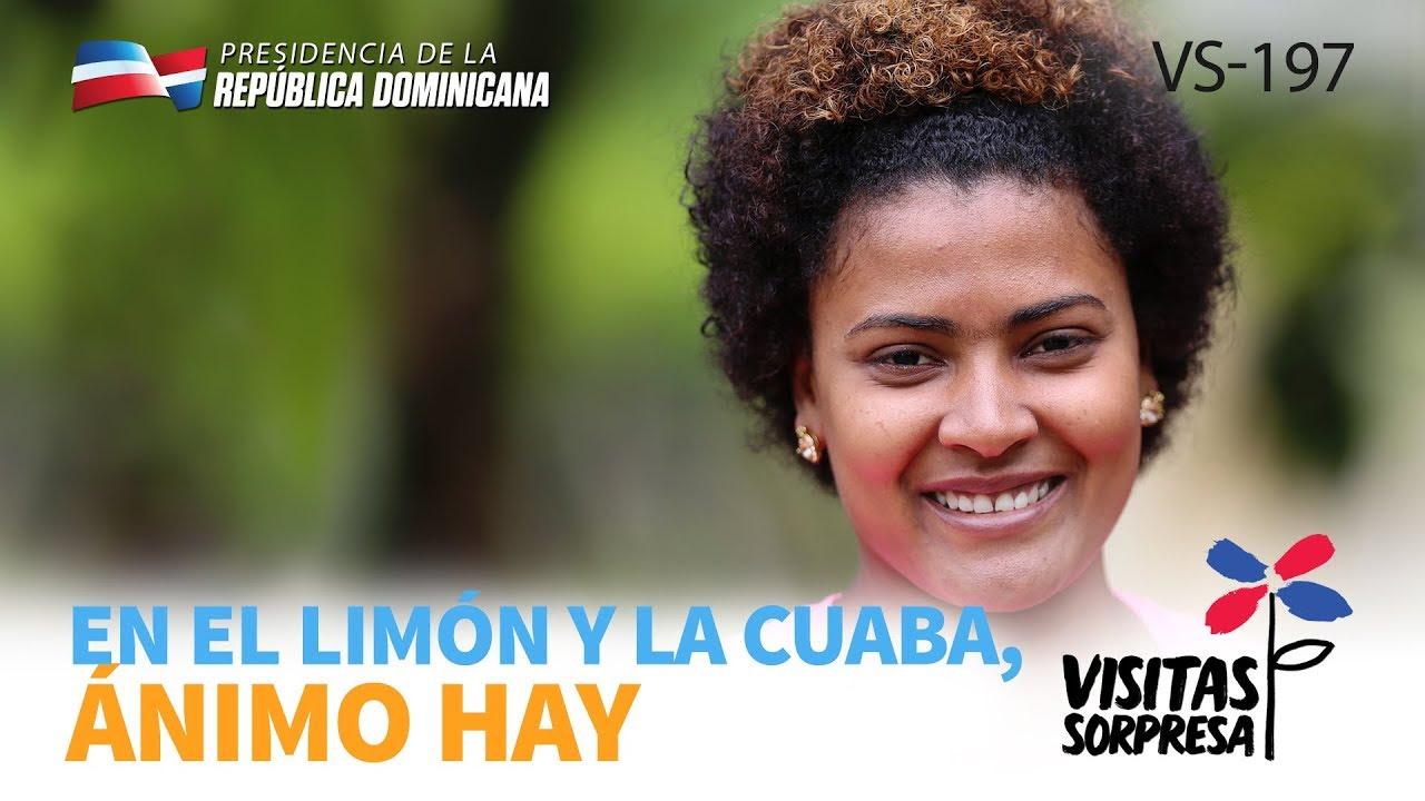 VIDEO: En El Limón y La Cuaba, ánimo hay