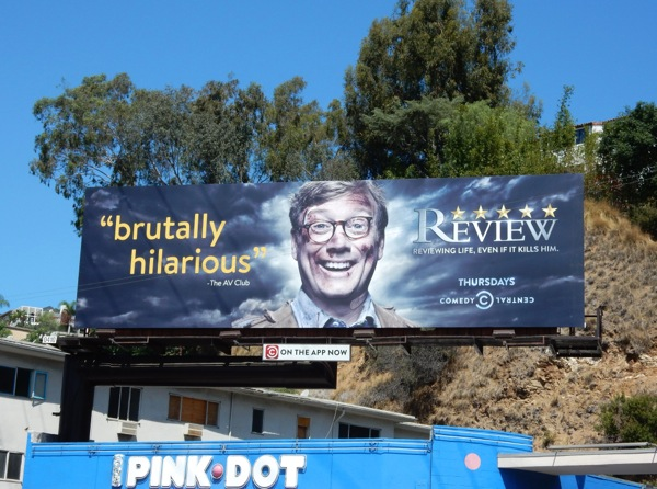 Review season 2 Comedy Central billboard