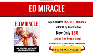 We're not buying Tom Bradford's ED Miracle program and here's why.