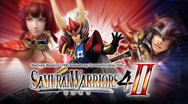 GAME SAMURAI WARRIORS 4 II