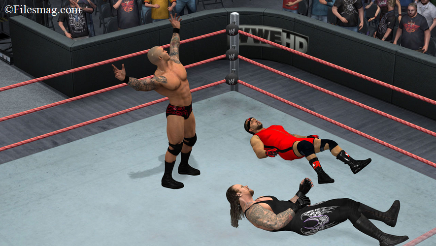 Wwe smackdown vs raw 2011 PC Game Download (Screenshot)