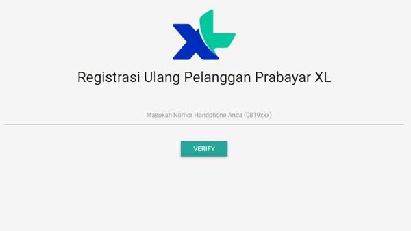 Cara Registrasi Ulang Kartu XL Prabayar