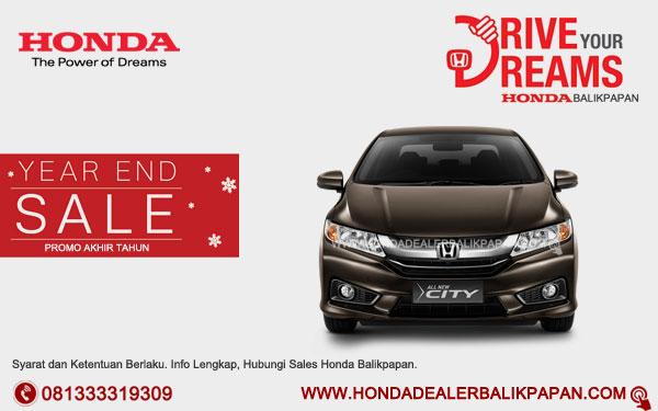 Promo Akhir Tahun Honda City Balikpapan