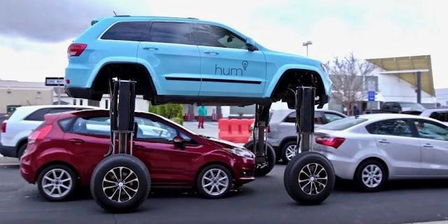【動画】渋滞を乗り越えて回避できる謎のシステム「ハムライダー」の映像が話題に!