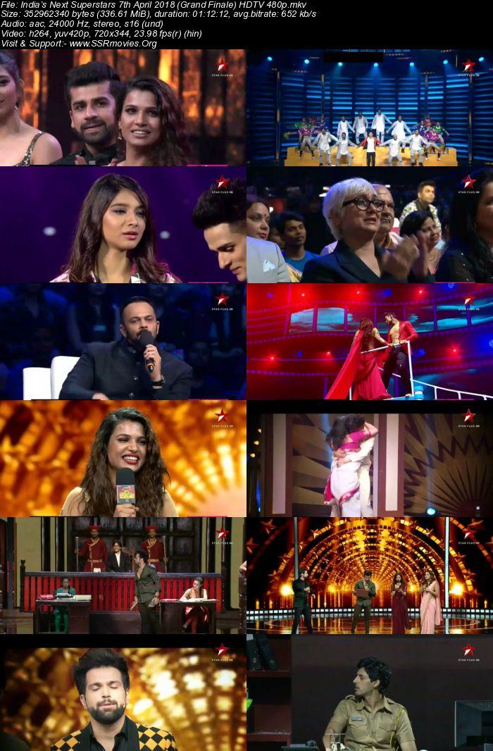 India's Next Superstars 7th April 2018 (Grand Finale)
