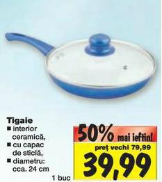 tigaie ceramica