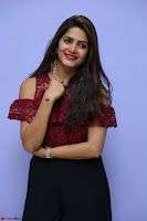 Pavani Gangireddy in Cute Black Skirt Maroon Top at 9 Movie Teaser Launch 5th May 2017  Exclusive 050.JPG
