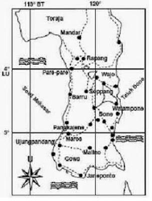 wilayah kerajaan gowa tallo