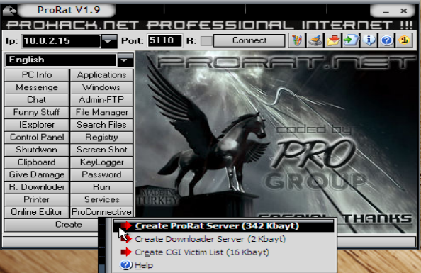 prorat 1.9 net software
