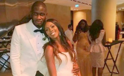 Tee Billz and Tiwa savage before their marriage collapse