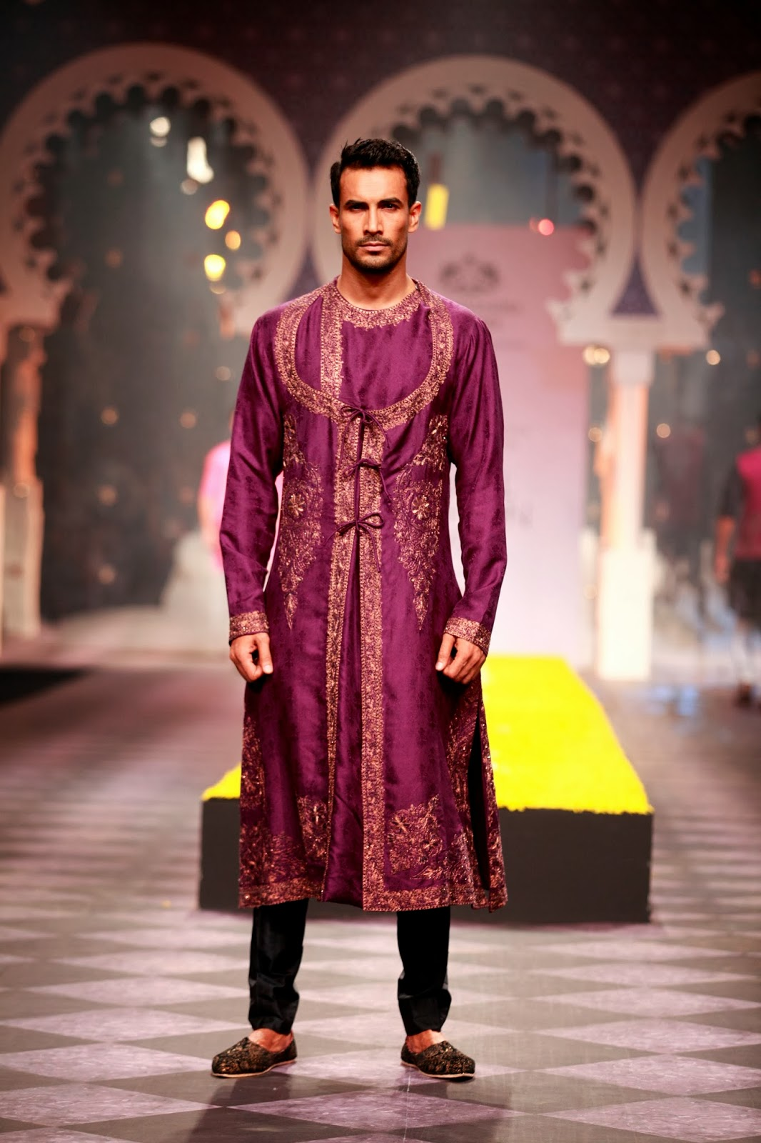 Indian Fashion Churidar Suits Designs Collection 2015 16: Indian Ethnic Designer Fashion Men Women By RAGHAVENDRA