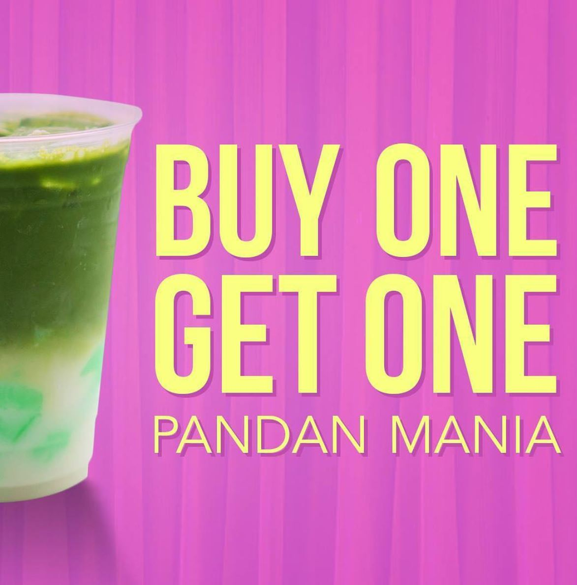 Ends Oct. 25 | Pandan Mania (Pandan Coconut Matcha Milk Tea) Is BOGO Free @ Mr. Matcha - Garden Grove