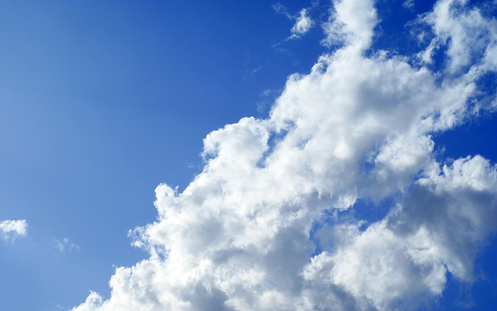 Blue Sky Wallpaper Hd: Sky Cloud Wallpapers Hd