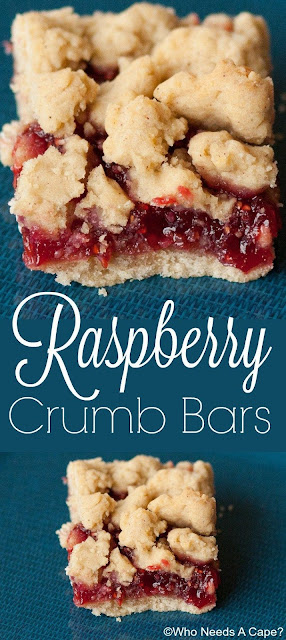 Buttery raspberry crumble bars recipes