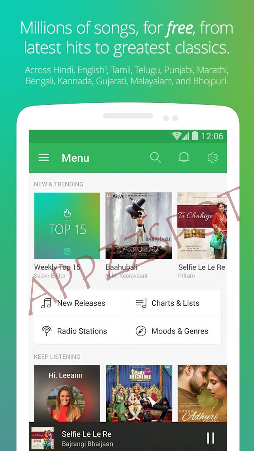 Saavn Pro for Android [APK] | APPZZSPOT