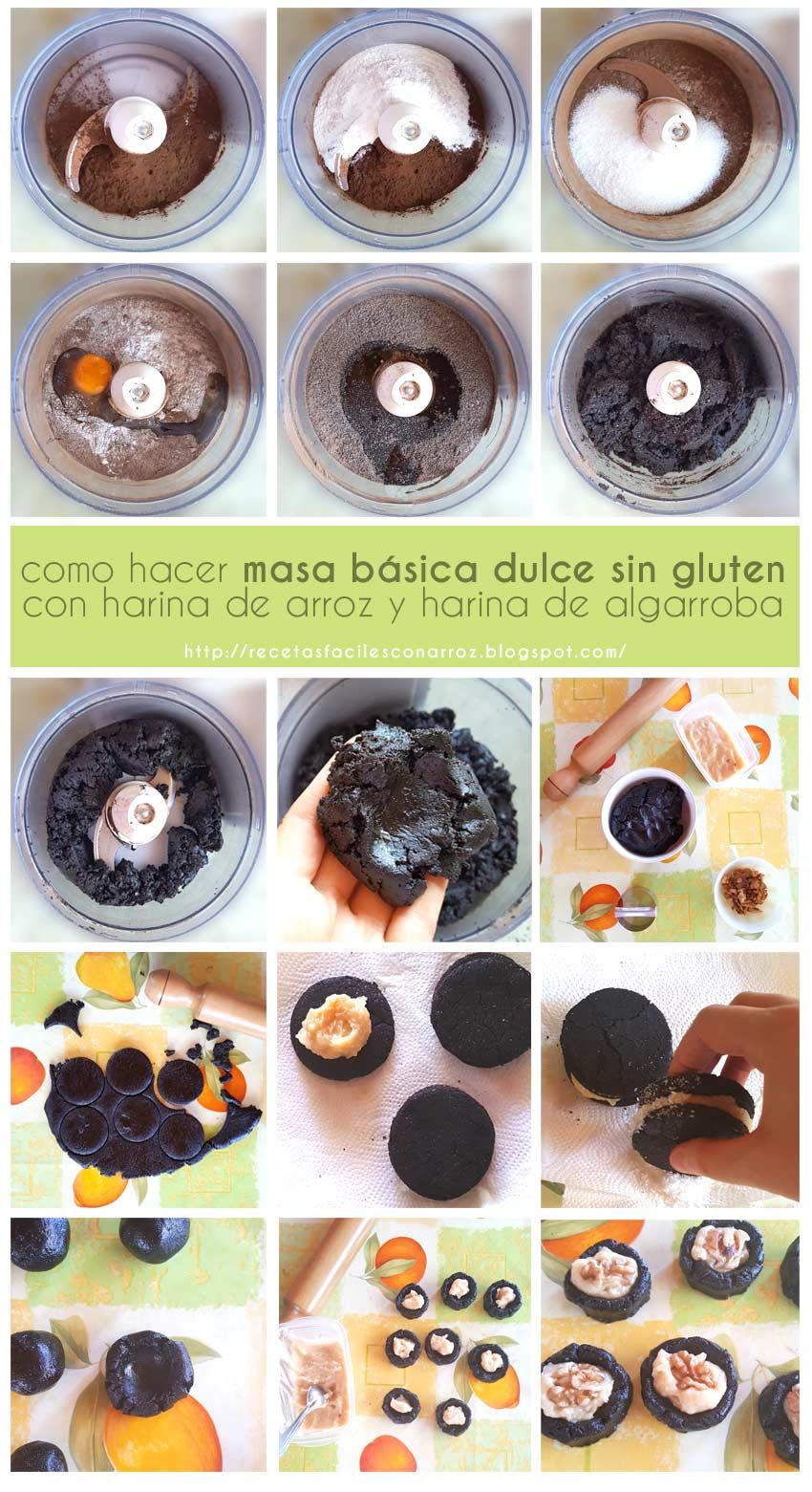 receta galletas sin gluten fototutorial