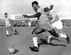 World best football Player of the 1950s Pele