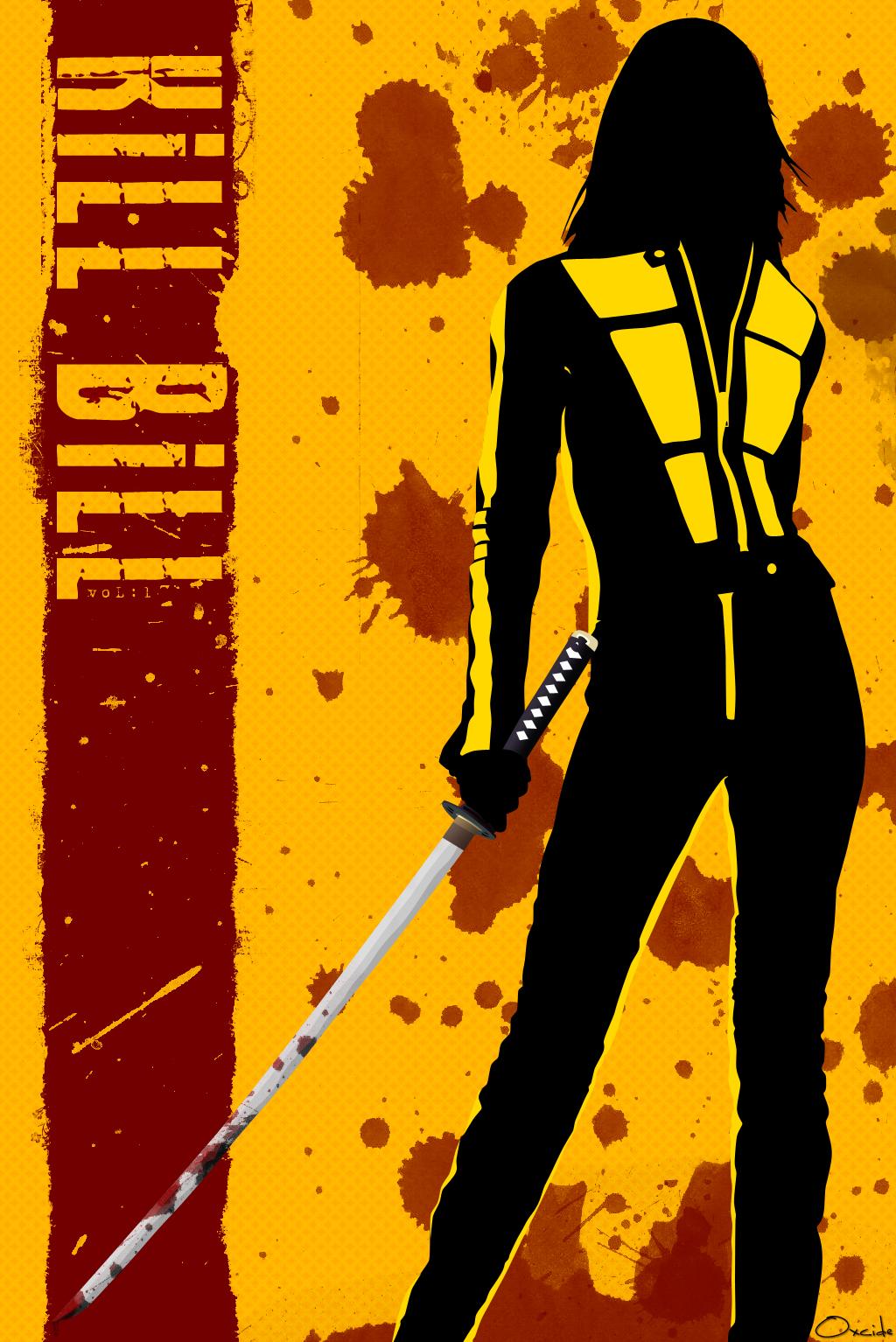 the geeky nerfherder movie poster art kill bill 2003