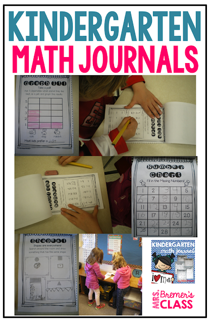These Kindergarten Math Journals can be used as a reinforcement tool, giving students that daily extra practice they need to help them master concepts. All of the Kindergarten math benchmarks are spiraled throughout the journal, one page for each skill.