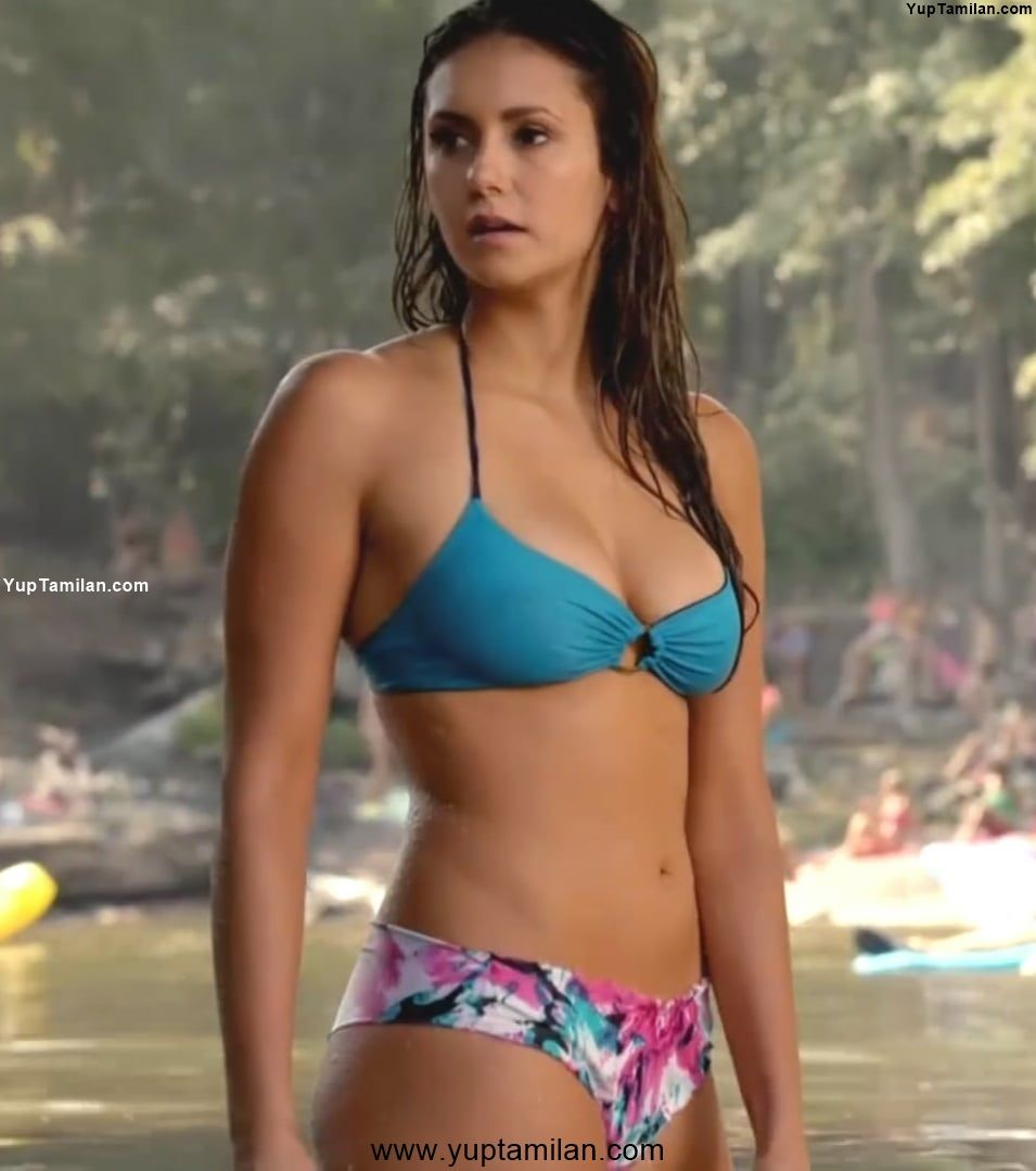 Nina Dobrev Hot Bikini Photos
