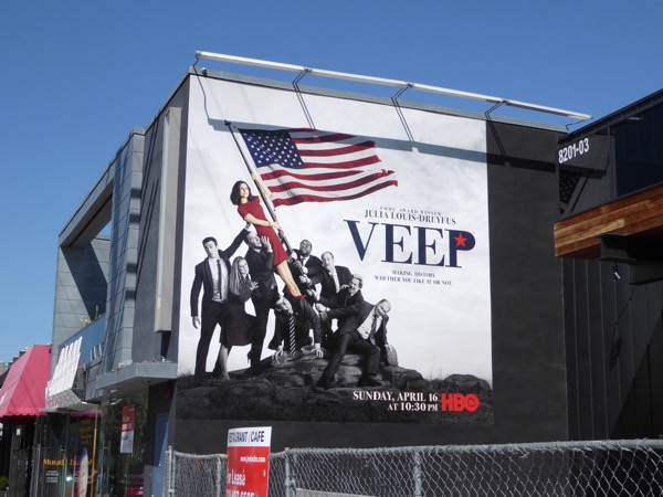 Veep season 6 billboard