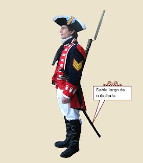 Blandengue (Sable largo de caballería)