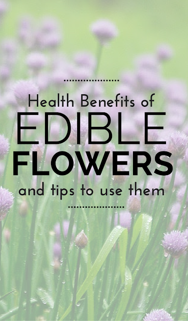 Edible flowers not only add flair to your cooking but they carry nutritive value as well. Come find out which ones to choose, how to use them and the health benefits, too!