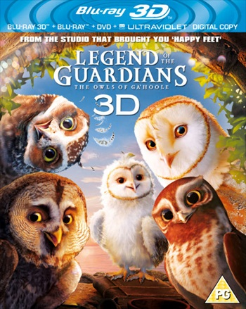 Legends Of The Guardians The Owls Of Gahoole 2010 Dual Audio Hindi 480p BluRay 300mb