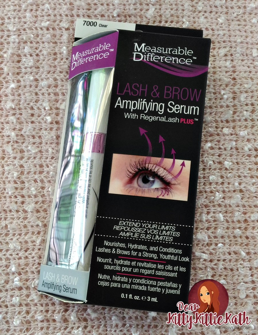 85d81d14caa Product Review: Measurable Difference Lash & Brow Amplifying Serum with  RegenaLash PLUS