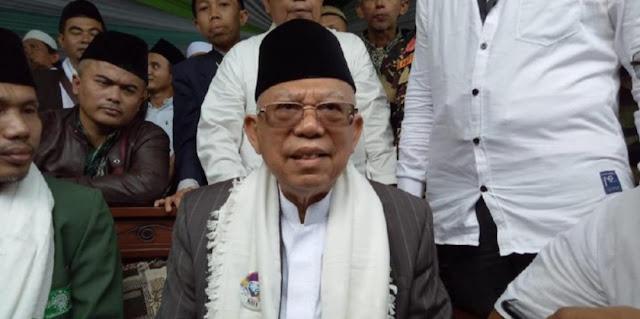Kiai Ma'ruf Amin Harap Suasana Pilpres Dijaga dari Ucapan Tidak Bersih