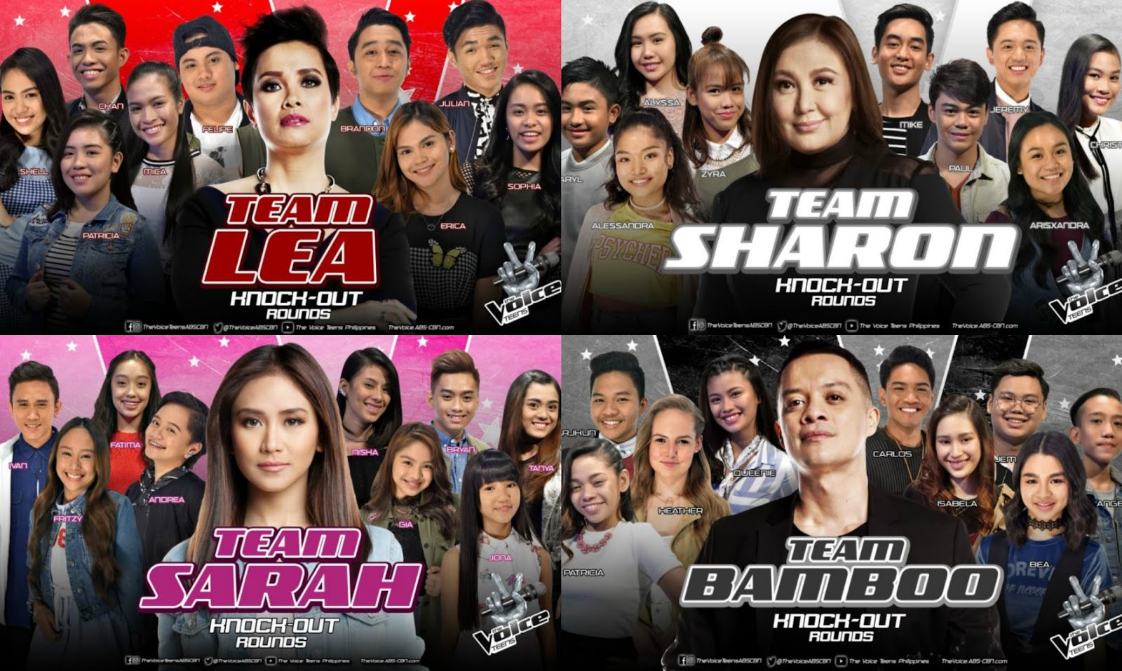 """The Voice Teens"" artists clash in Knockout Rounds"