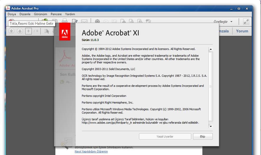 Original Adobe Acrobat XI Software