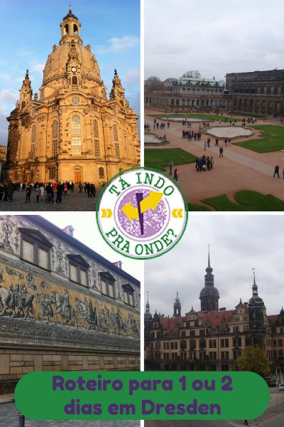 Roteiro para um ou dois dias em Dresden, Alemanha